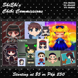 Starting at $5 | Chibi Commissions 2020