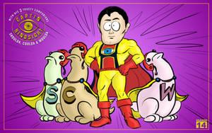 Captain Hindsight and His sidekicks