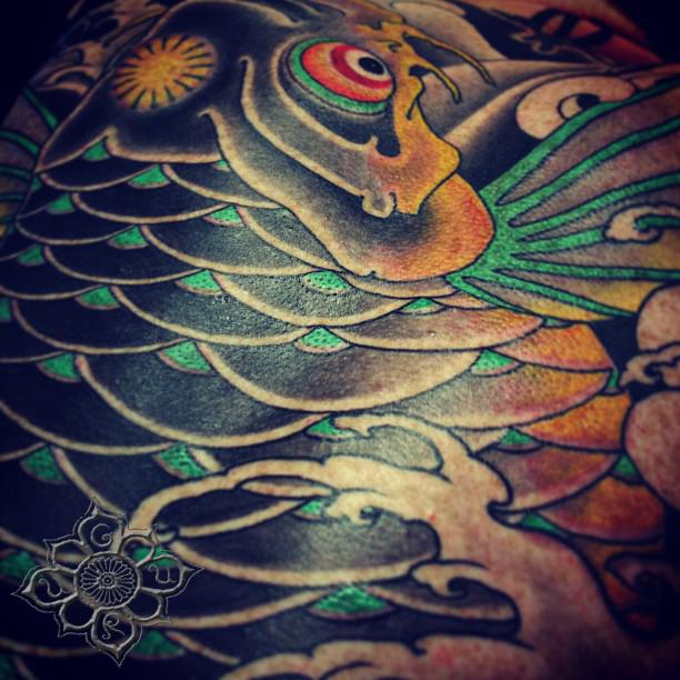 Koi Tattoo by Nick Alvarez by Guru-Tattoo on DeviantArt