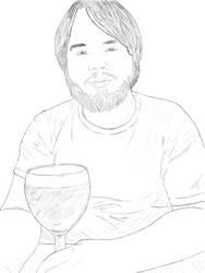 Boyfriend with Beer by AngelGarou
