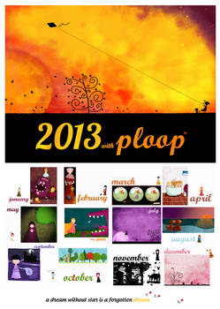 Fairies and monsters, 2013 calendar