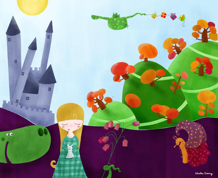 The Princess' dream by nicolas-gouny-art