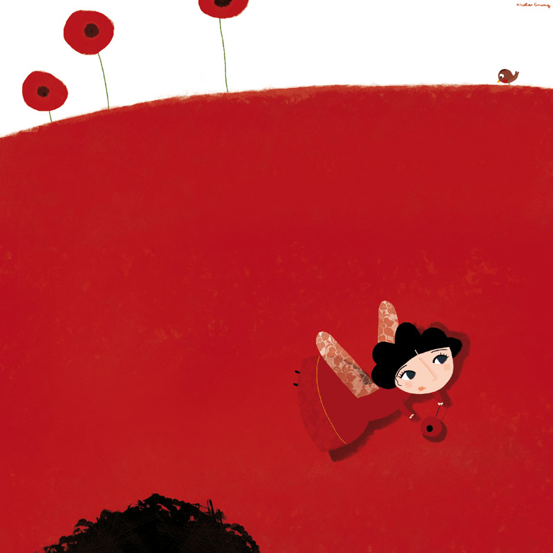 Poppy the fairie by nicolas-gouny-art
