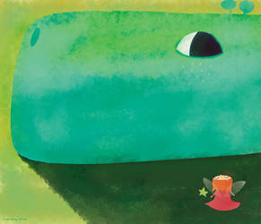 The dragon's eye by nicolas-gouny-art