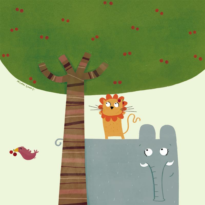 The cherries hunter by nicolas-gouny-art