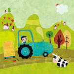 Little Leo and his tractor