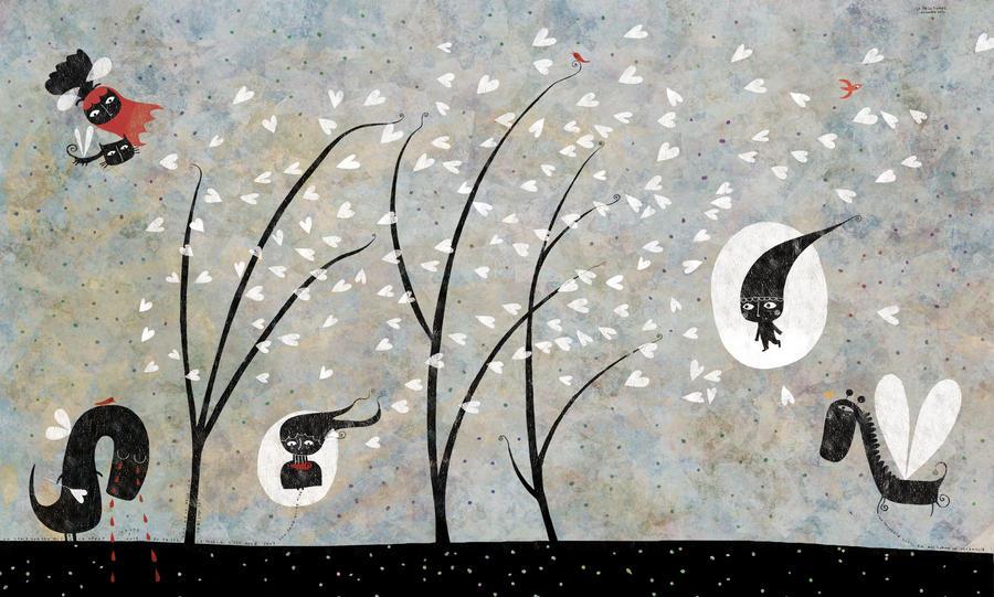 The winter sabbat by nicolas-gouny-art