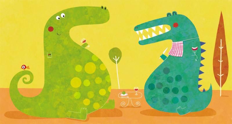 The dinosaures by nicolas-gouny-art