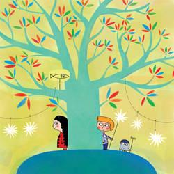 The growing tree by nicolas-gouny-art