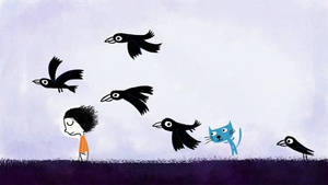 Alone with ravens