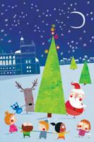 Christmas' dance by nicolas-gouny-art