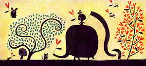 An elephant made for love