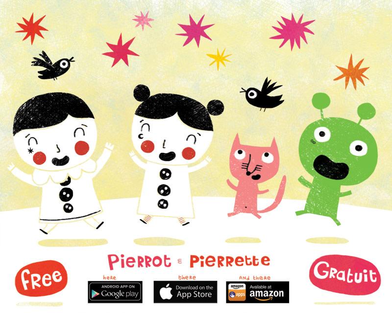 Pierrot  Pierrette by nicolas-gouny-art