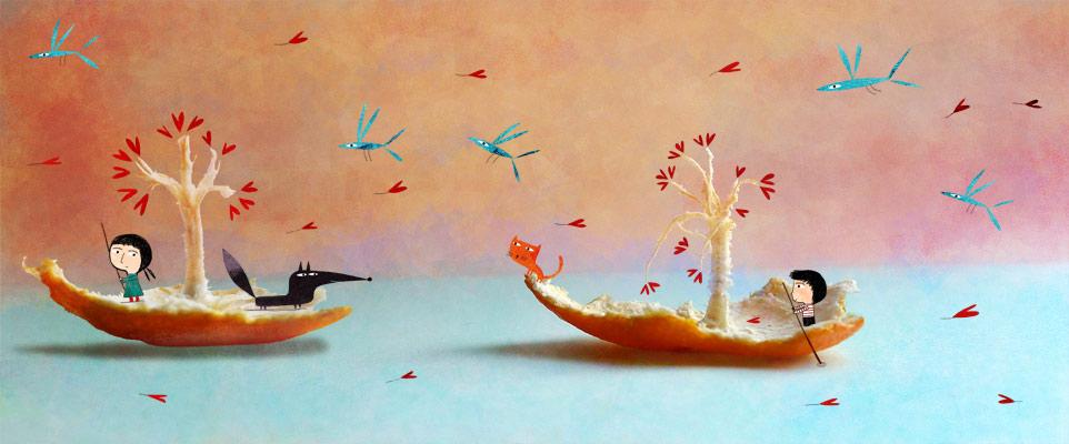 The pursuit by nicolas-gouny-art