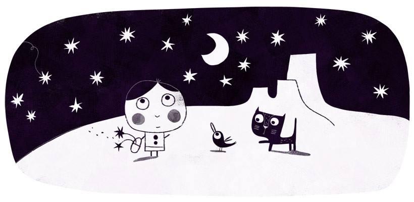 Under the stars by nicolas-gouny-art