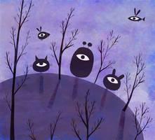 Eyes on hill by nicolas-gouny-art