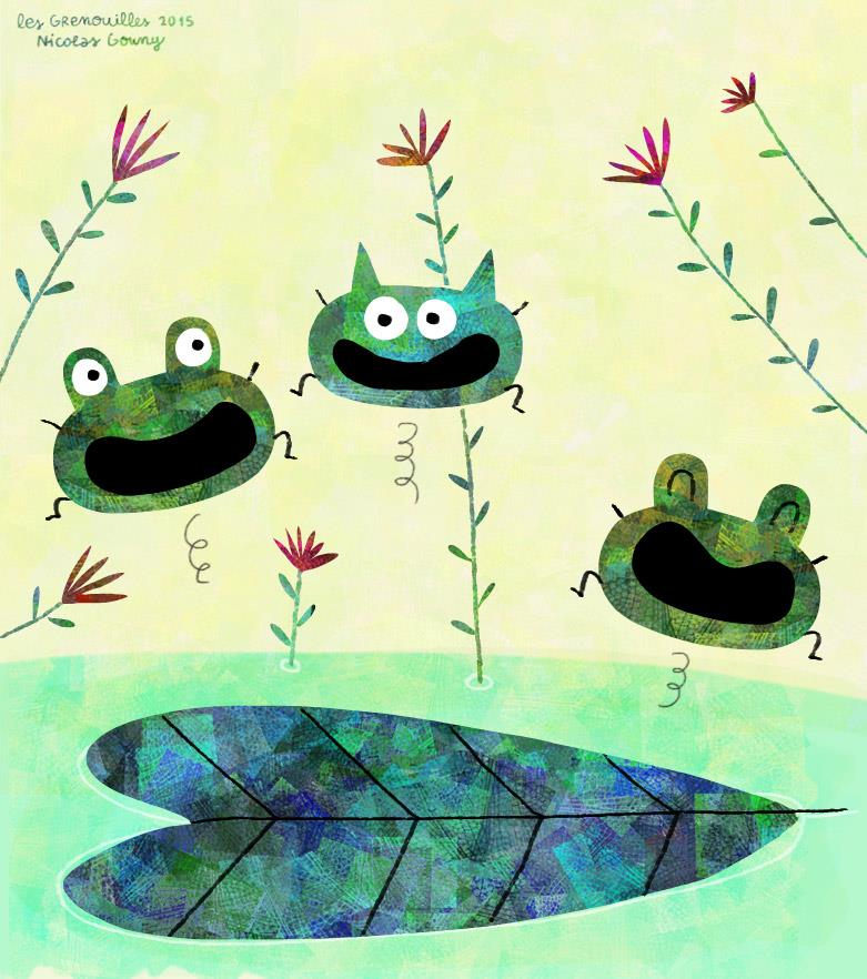 The frogs by nicolas-gouny-art