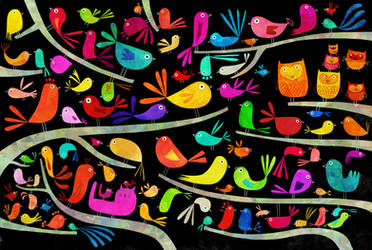 Birds by nicolas-gouny-art