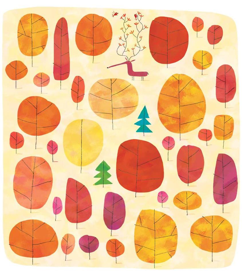 Florewish deer by nicolas-gouny-art