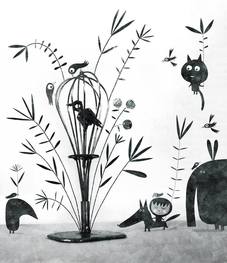 The bird by nicolas-gouny-art