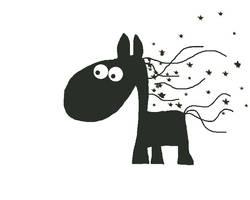 le cheval dans le vent