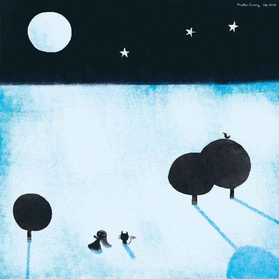 Shadows and trees, 6 by nicolas-gouny-art