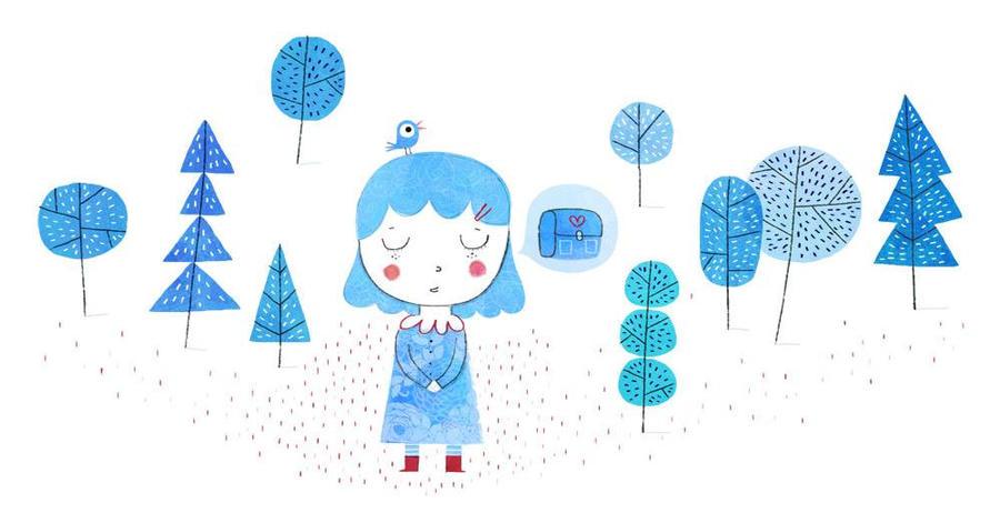 Blue by nicolas-gouny-art