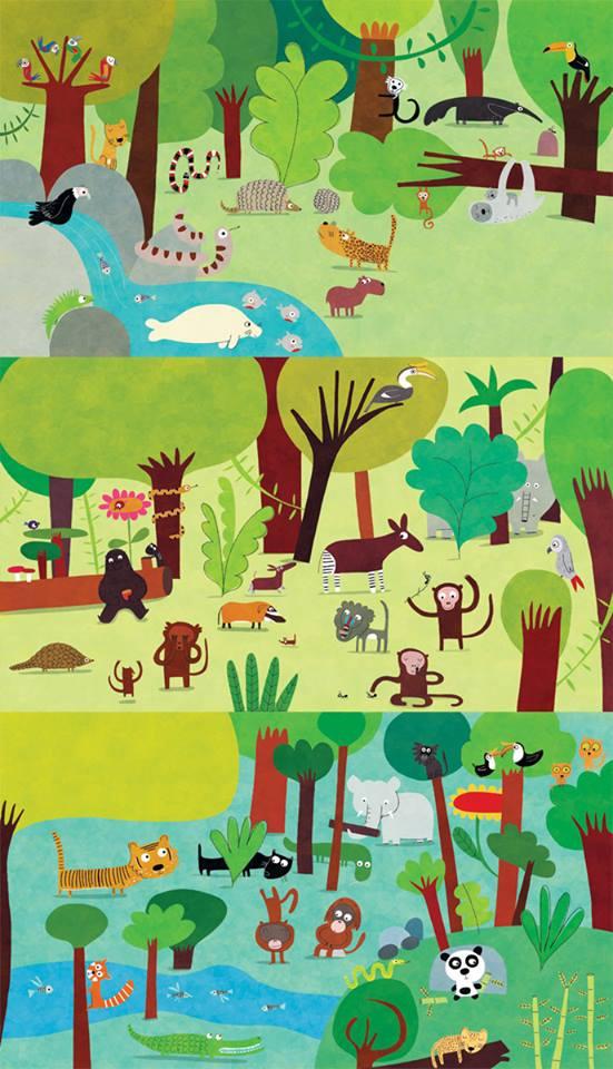 The three jungles by nicolas-gouny-art