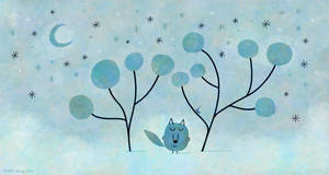 Lonely wolf by nicolas-gouny-art