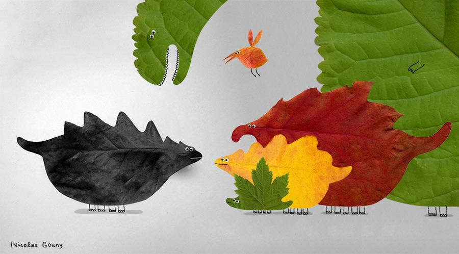 When the colours came to the dinosaures by nicolas-gouny-art