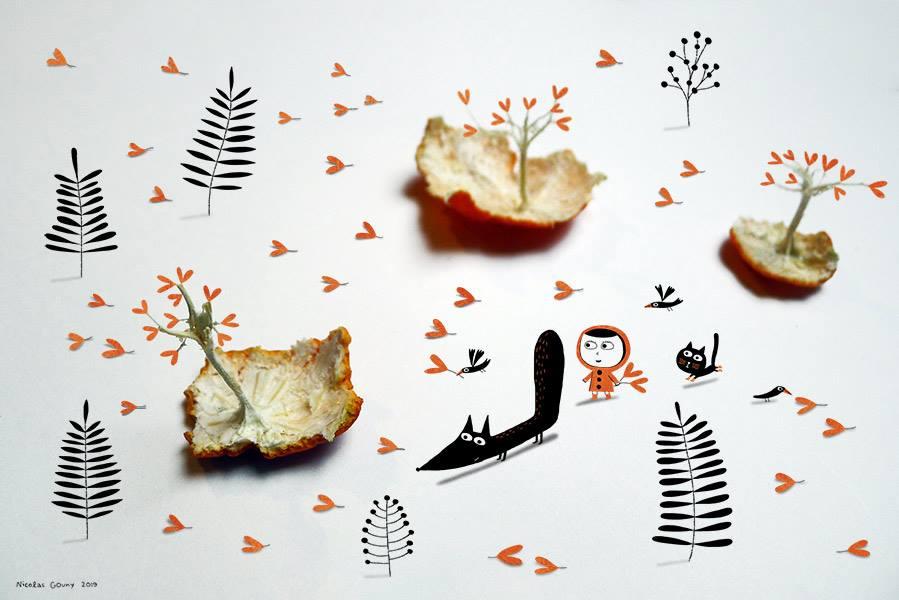 Clementina trees by nicolas-gouny-art