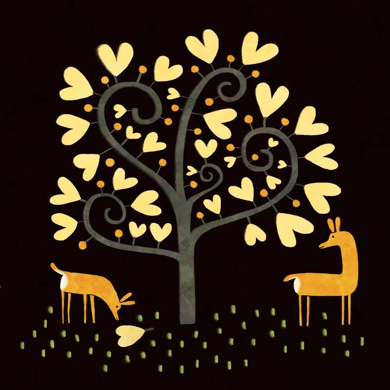 Tree of hearts by nicolas-gouny-art