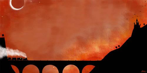 Le pont du diable by nicolas-gouny-art