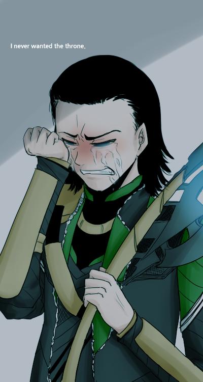 Cry, Loki by OCTISquad on DeviantArt