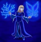 Blue Mage by Satin-Bowerbird