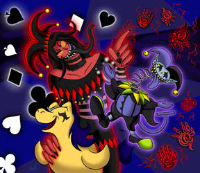 Double Chaos by Satin-Bowerbird