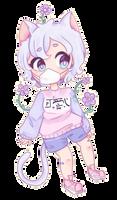 CP | Shy Flower by starii-chan