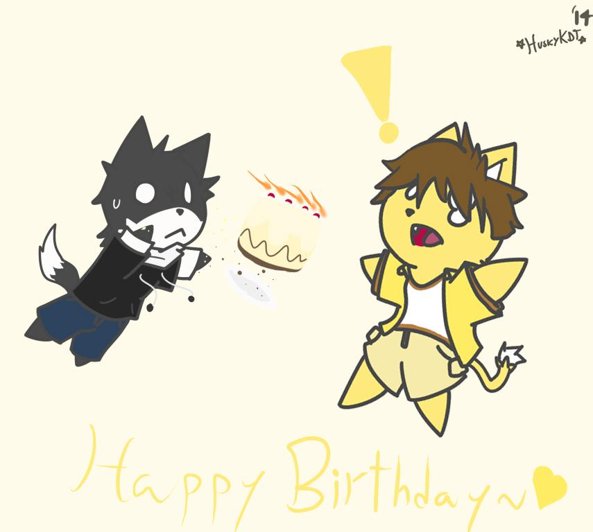 Happy birthday, Kira! by HuskyKDT