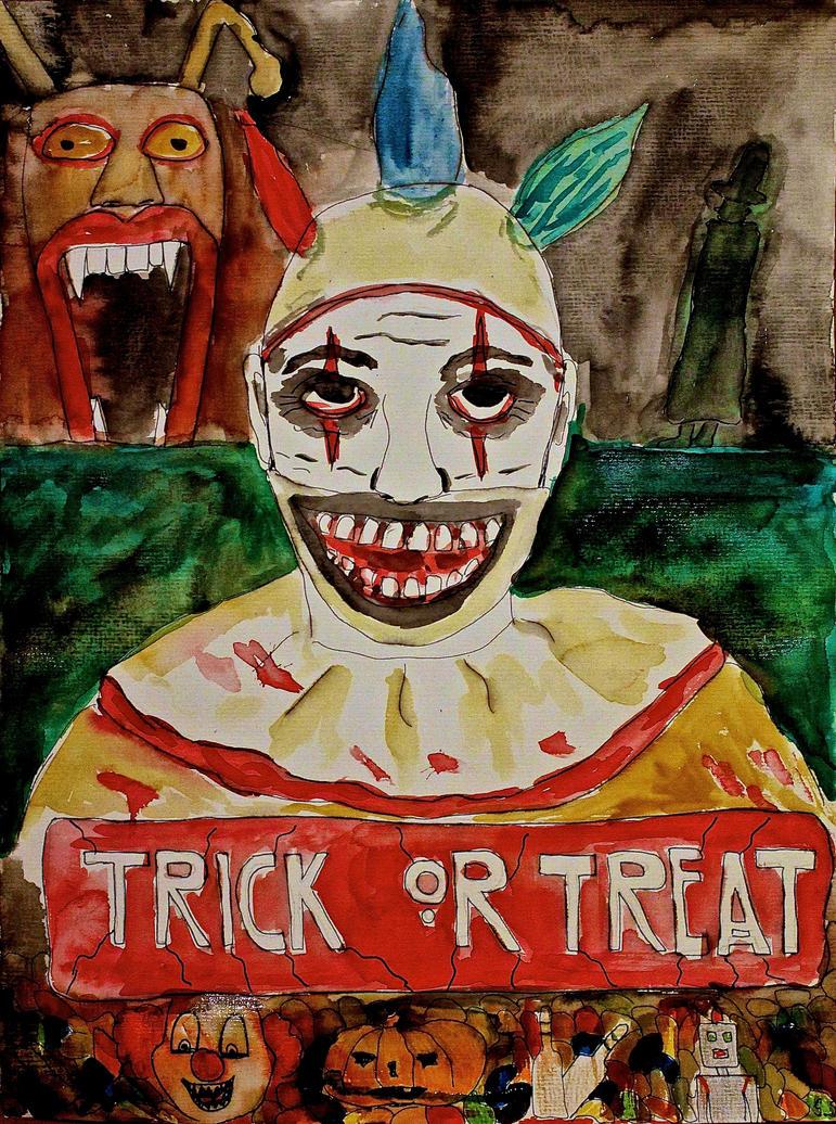 Twisty loves Halloween by HexeMistelzweig