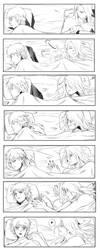 Hugging you _DeiSaso_naruto by Lairam