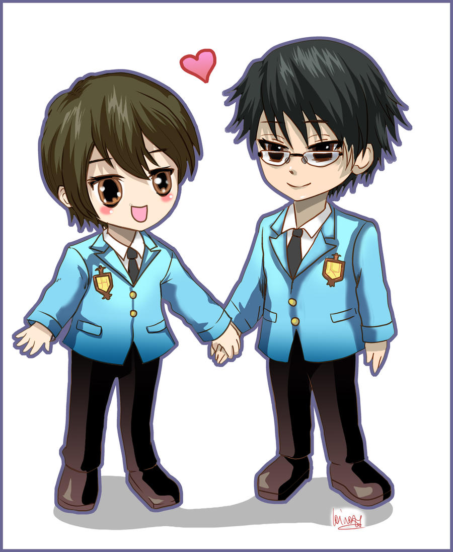 Ouran H School -Haruhi x Kyoya by Lairam on DeviantArt