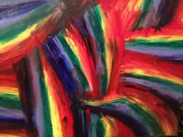 rainbow fingers