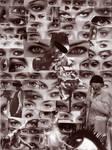 Eyes of spectators
