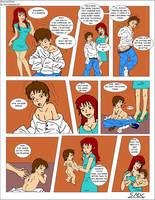 Ross and Dana AR Comic Pt1 by OzzieAstaroth