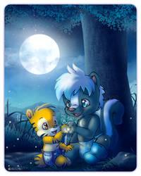 Fireflies 2 - Ozzie and Tavi 10th Anniversary by OzzieAstaroth