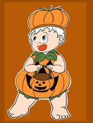Ozzie's Pumpkin Costume