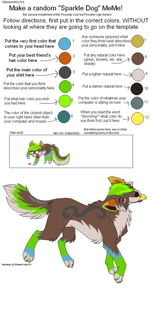 Random Sparkle Dog maker :0 by aeternizare on DeviantArt