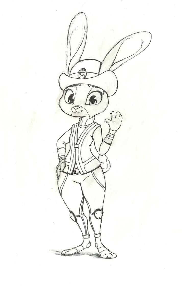 Judy Hopps by Mon311
