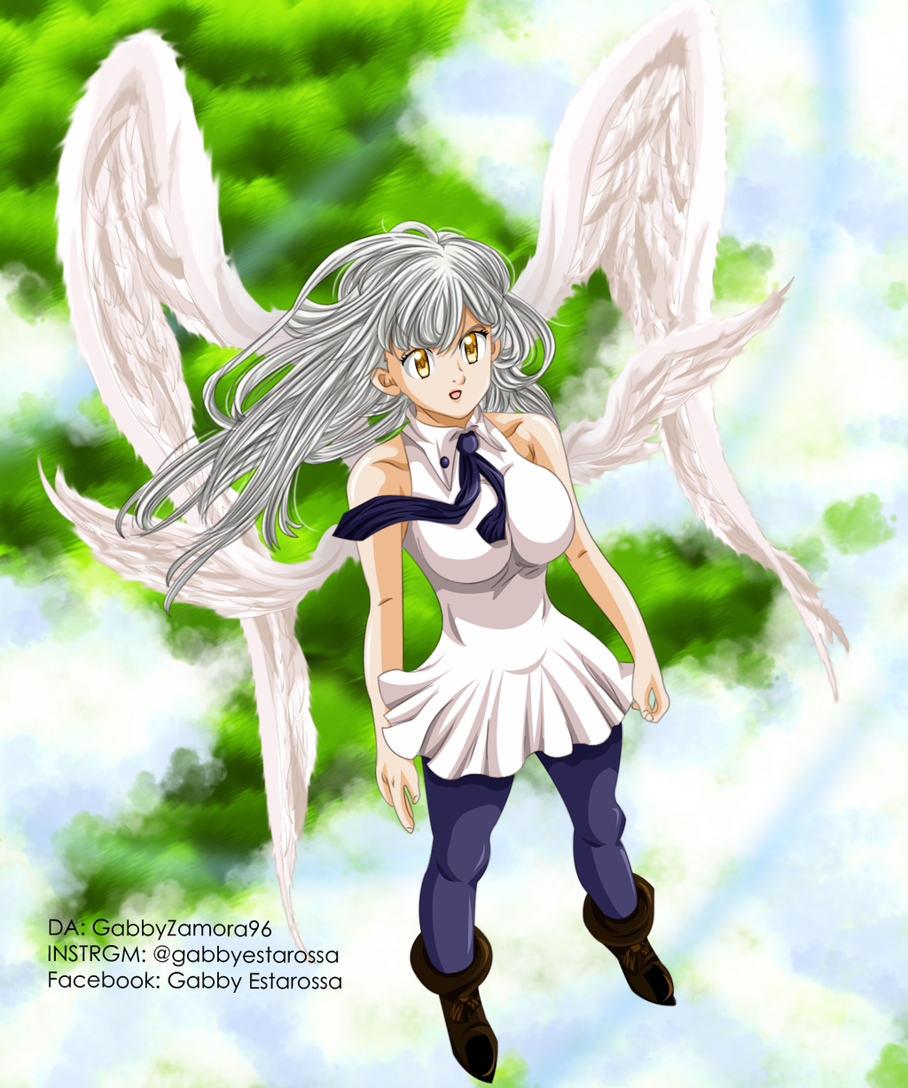 Elizabeth Goddess / Elizabeth by GabbyZamora96 on DeviantArt
