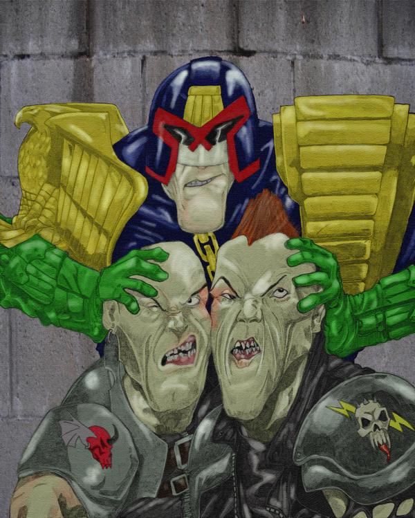 Judge Dredd - Rough Justice by spowy123